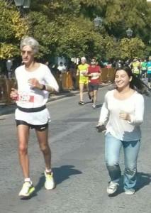 Ο Σπύρος κατηφορίζεις προς τον τερματισμό και το 3.24 με την Ελένη